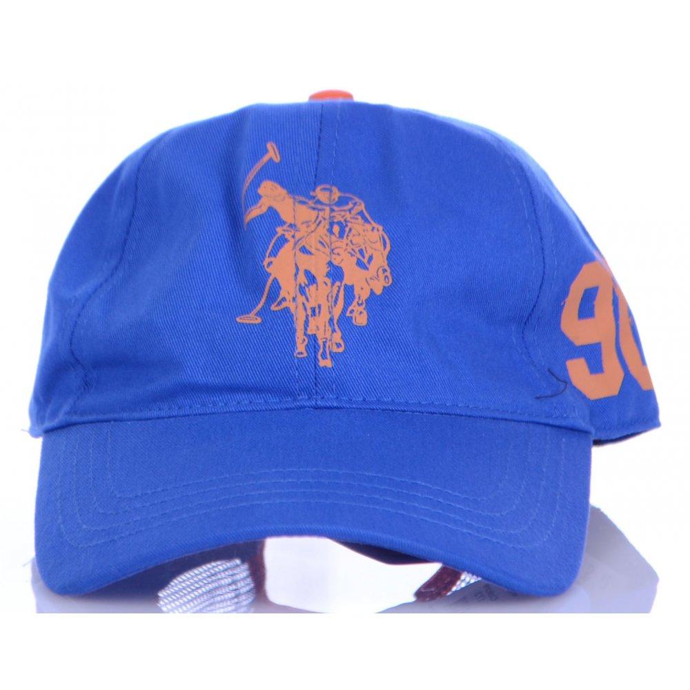U.S. Polo Assn. Team Unisex Blue Cap - Accessories from N22 Menswear UK 12032d44a20