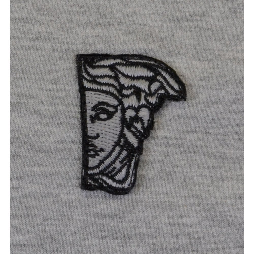 b314fbc2 Versace Collection V Neck Basic Grey T-Shirt - Clothing from N22 ...