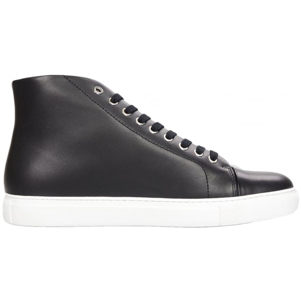 Versace Versus FSU510C Leather High Top